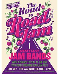 The Road to Road Jam: A Jam Band Battle Logo