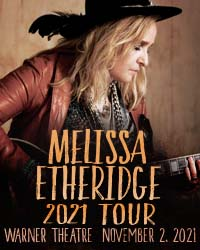 poster for Melissa Etheridge