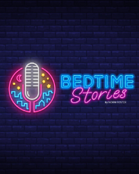 poster for BEDTIME STORIES by Norm Foster
