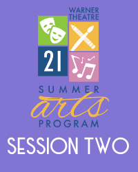 poster for Summer Arts Program 2021 - Session 2