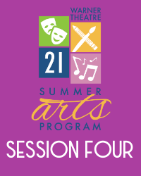 poster for Summer Arts Program 2021 - Session 4