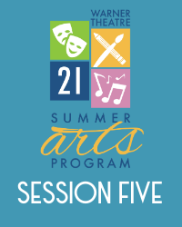 poster for Summer Arts Program 2021 - Session 5