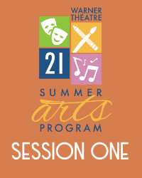poster for Summer Arts Program 2021 - Session 1