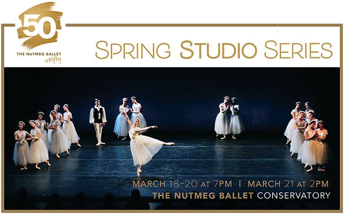 poster for Nutmeg Spring Studio Series